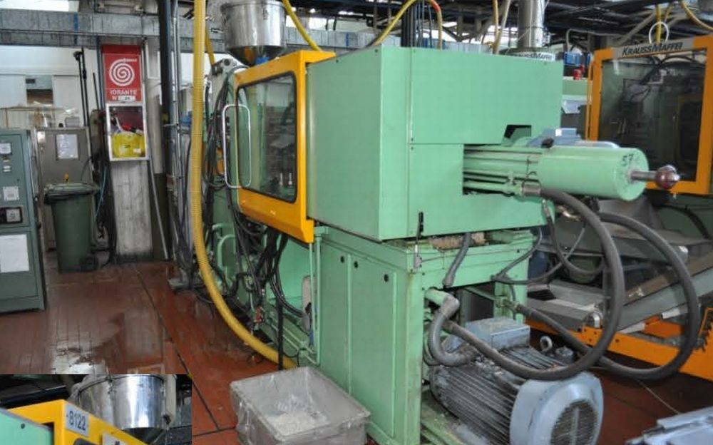 INJECTION MOULDING MACHINE – NO.15.0110
